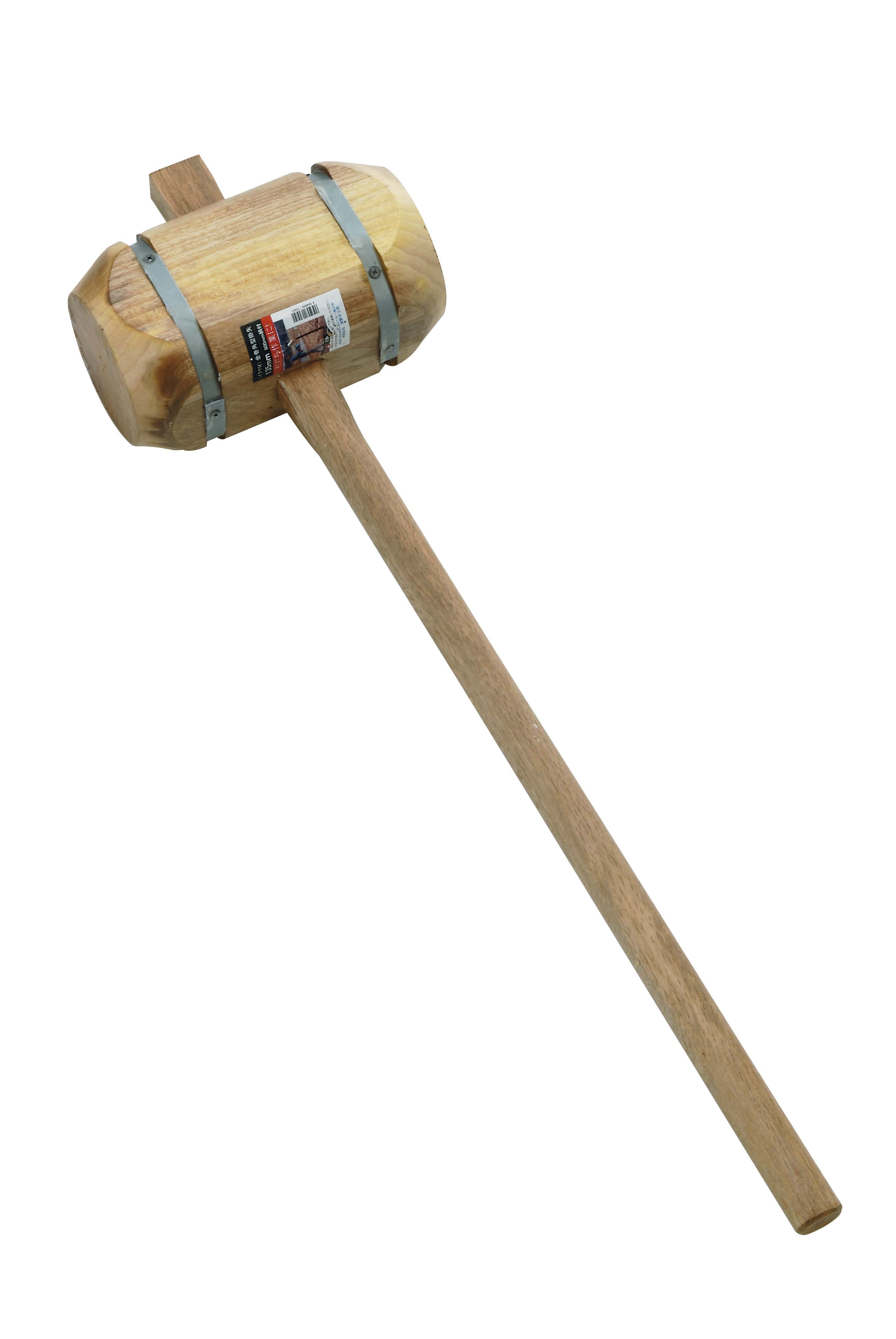 Square Wooden Mallet, Banded (maple)